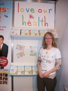 Love Our Health at the Education Show