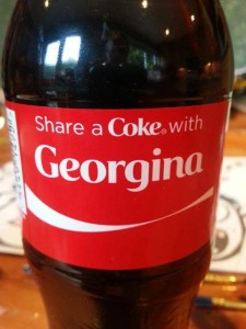 Georgina Coke personalisation