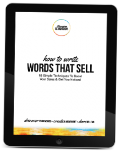 How To Write Words That Sell Ebook