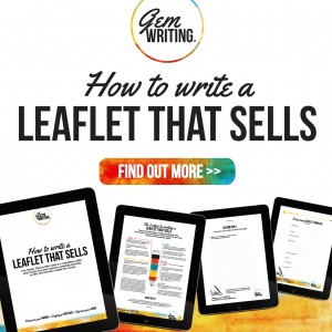 Contents on How To Write A Leaflet That Sells