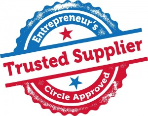 Trusted supplier logo